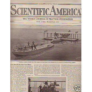 Scientific American March 29  US Army 121 Mile Gun: Everything Else