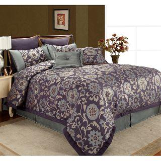 Rachel Midnight Hour 8 piece King Comforter Set