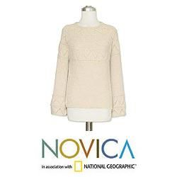 Alpaca Wool Inca Maiden Sweater (Peru)