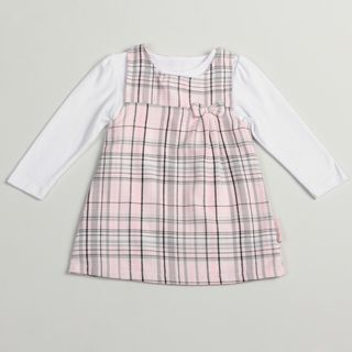 Calvin Klein Toddler Girls Pink/ Grey 2 piece Jumper