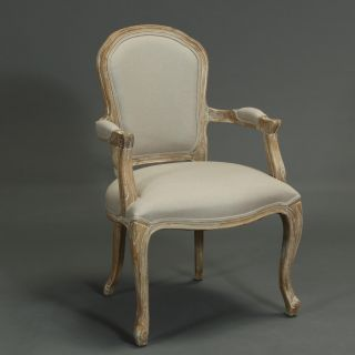 Portland Natural Weathered Oak Wood Chair