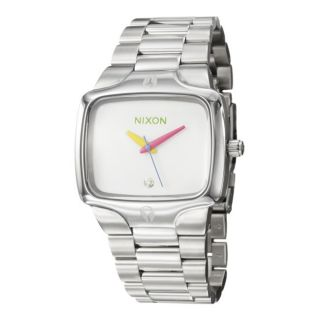 Nixon Womens The Player Stainless Steel Quartz Watch