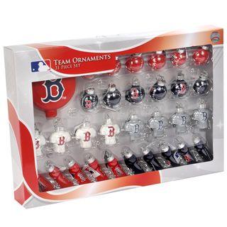MLB 31 piece Glass Ornament Set