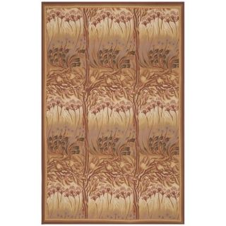 Hand knotted French Aubusson Multicolor Wool Rug (9 x 12