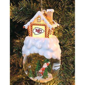Kansas City Chiefs NFL Home Sweet Home Tree Ornament