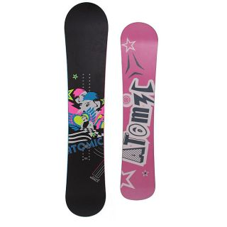 Atomic Womens Fallen Angel Black 144 cm Snowboard