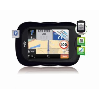 GPS moto Mappy Mini X340   Ecran 3.5   Cartographie Europe de lOuest