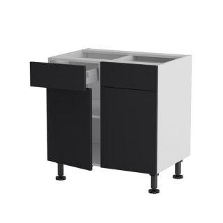 ELEMENTS HAUT ET BAS Meuble cuisine bas 80cm 2 tiroirs/portes 40*70