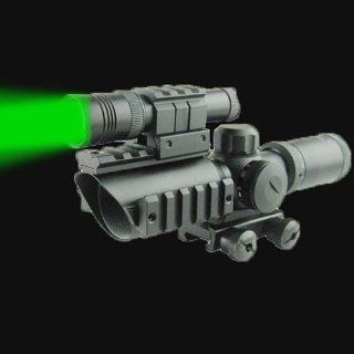 Compact CQB 1.5 5x32mm Scope Red + Green Illumination with