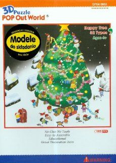 Christmas Tree ornaments series 3D paper puzzle 8809071370188