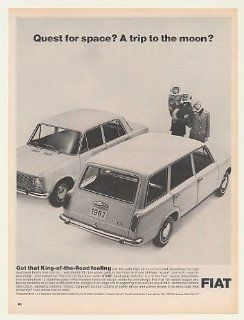 1967 Fiat 124 4 Dr Sedan Station Wagon Space Family Print