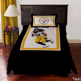 Pittsburgh Steelers Troy Polamalu 4 piece Comforter Set