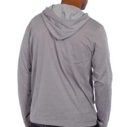 191 Unlimited Mens Grey Pullover Hoodie