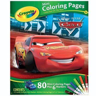 80 pages à colorier Disney et 6 mini feutres à dessiner   Loisirs