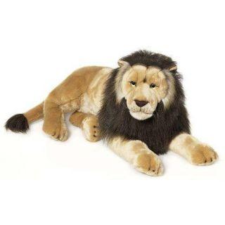 81 cm   Achat / Vente PELUCHE WWF   Lion Couché   81 cm
