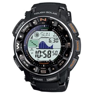 Casio Mens ProTrek Pathfinder Triple Sensor Solar Power Atomic