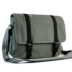 Kroo Canvas 15.6 inch Laptop Messenger Bag