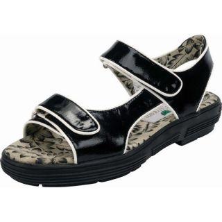 Golfstream Ladies Black Golf Sandals