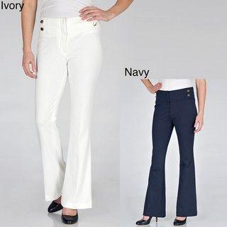 Focus 2000   Pantalones de mujer en tejido Ponte