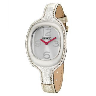 Coach Womens Poppy Blair Dial Leather Watch