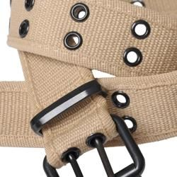 Boston Traveler Mens Double Eyelet Canvas Belt