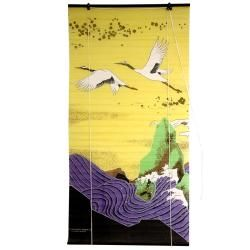 Rice Paper 36 inch Cranes Shoji Blinds (China)