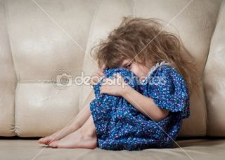 Sad little girl.  Stock Photo © Евгения Тубол #9723829
