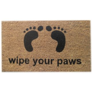 Wipe Your Feet Coir Door Mat