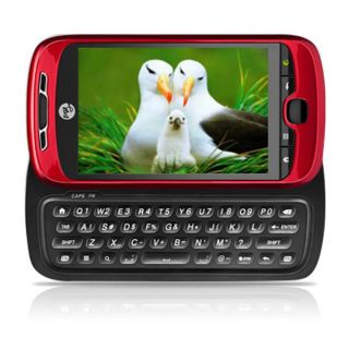 HTC myTouch Slide Unlocked Red Cell Phone