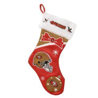 San Francisco 49ers Polyester Christmas Stocking