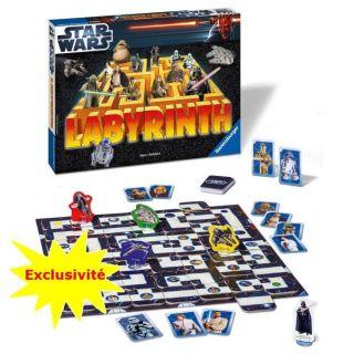 Labyrinthe Star Wars 3D   Achat / Vente JEU DE PLATEAU Labyrinthe