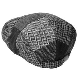 Boston Traveler Mens Plaid Ivy Cap