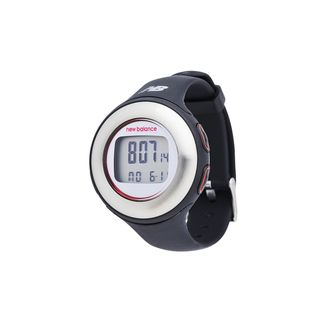 New Balance Black Heart Rate Monitor HRT Slim Fitness Watch and
