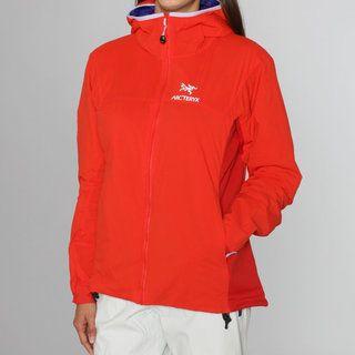 Arcteryx Womens Atom LT Poppy Hooded Jacket (L)