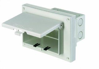 Arlington DBHR131W 1 Horizontal Electrical Box with Weatherproof Cover