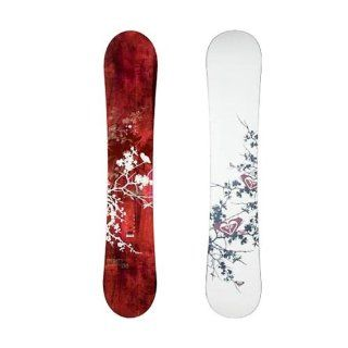 Roxy Womens Silhouette Red/Gold Snowboard NEW 2008, 135cm