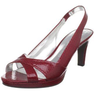 Etienne Aigner Womens Ophelia Slingback Pumps in Red