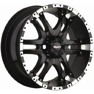 Ballistic Wizard 810 Flat Black Wheel (20x9/6x135mm)
