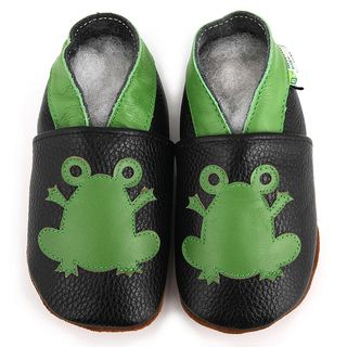 Baby Pie Frog Prince Leather Boys Shoes