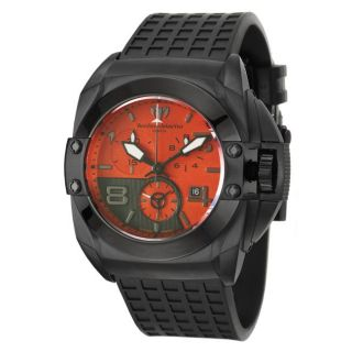 Technomarine Mens Blackwatch Black PVD coated Stainless Steel and