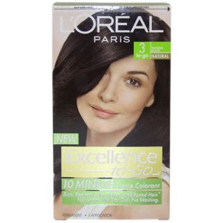 Oreal Excellence to Go Natural Black #3 Hair Color