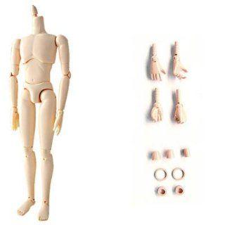 Obitsu KM 133 27cm White Slim Male Doll Body Arts, Crafts