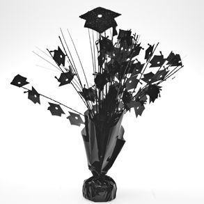 Black Graduation Cap Centerpieces: Toys & Games
