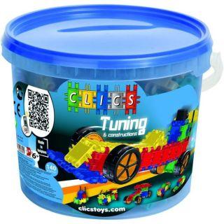 Clic Toys   Baril Clics Tuning, 6 constructions   Mixte   A partir de