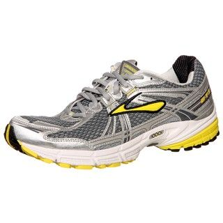 Brooks Mens Adrenaline GTS 11 Grey/Shadow/Empire Athletic Shoes