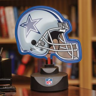 Dallas Cowboys Neon Helmet Lamp