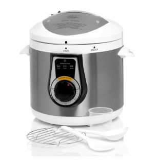 Wolfgang Puck Elite White Heavy Duty 7 quart Electric Pressure Cooker