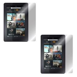 rooCASE  Kindle Fire TPU Gel Skin Case & 2 Pack Screen
