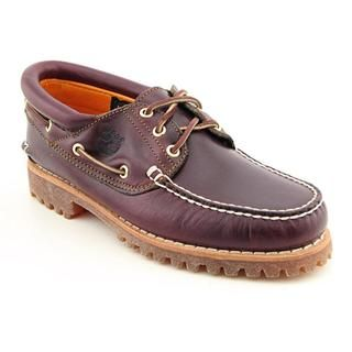 Timberland Mens Trad HS 3 Eye Full Grain Leather Casual Shoes Wide