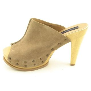 STEVEN STEVE MADDEN Womens Barc Brown Clogs & Mules (Size 10